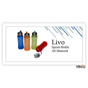 Type Livo Sports Bottle AS Material