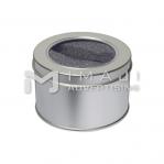 Round Metal Tin Box